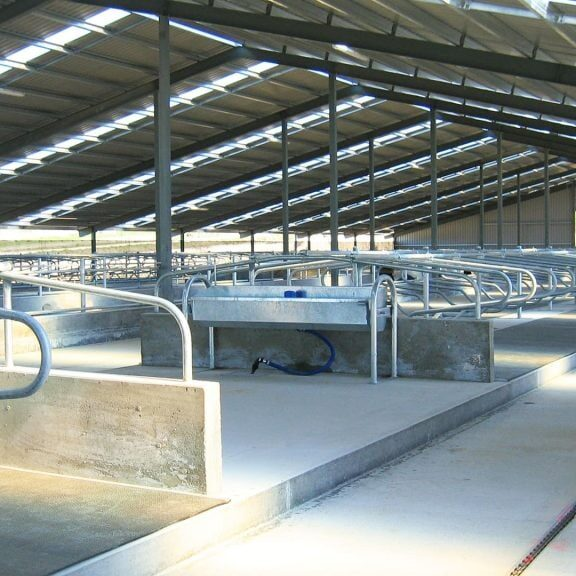 Tony Boyce Building - Farm Build Wintering Barn2