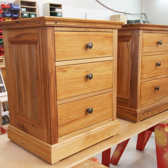 Tony Boyce Building - Joinery - Bedside Cabinet